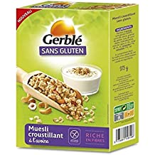 Gerblé - Muesli Avena Sin Gluten 375G - Muesli Avoine Sans Gluten 375G - Precio Por