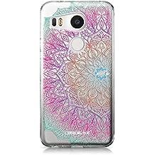 CASEiLIKE Funda Nexus 5X , Carcasa LG Google Nexus 5X, Arte de la mandala 2090, TPU Gel silicone protectora cover