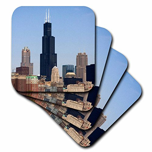 3drose-cst-90187-1-willis-and-sears-tower-chicago-river-il-us14-dfr0095-david-r-frazier-soft-coaster