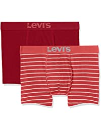 Levi's Levis 200sf Vintage Stripe 0312 Boxer Brief, Pantalon Homme (lot de 2)