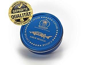 Amur Beluga Kaviar, 50g Dose: Amazon.de: Lebensmittel