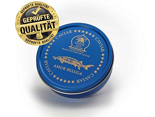 Amur caviar Beluga 50g (esturión)