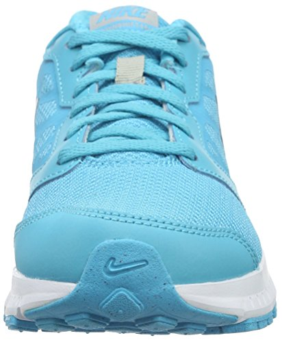 Nike Damen Downshifter 6 Laufschuhe Blau (Gamma Blue/Blck-Mtllc Slvr-Wht)