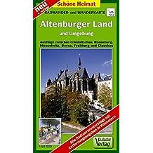 Radwander- und Wanderkarte Altenburger Land und Umgebung: Ausflüge zwischen Crimmitschau, Ronneburg, Meuselwitz, Borna, Frohburg und Glauchau. 1:50000 (Schöne Heimat)