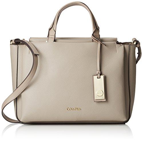 Calvin Klein Jeans - Carri3 Duffle, Borsa con Maniglia Donna Grigio (Grau (FUNGI 094))