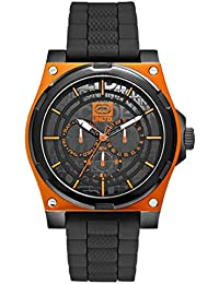 Marc Ecko Men's Watch Analogue Quartz Silicone E13558G3
