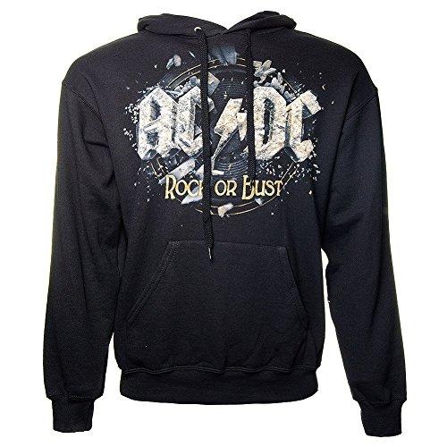 Felpa con cappuccio - AC/DC - Rock or busto