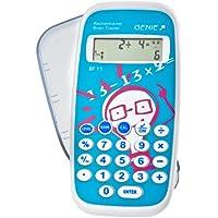 Genie BT11 - Calcolatrice per bambini, gioco educativo con più di 300000 esercizi, calcolatrice tascabile con coperchio di protezione - Confronta prezzi