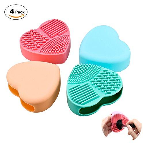 pennelli-trucco-ivencase-pennello-make-up-addetto-alle-pulizie-in-silicone-4-pezzi