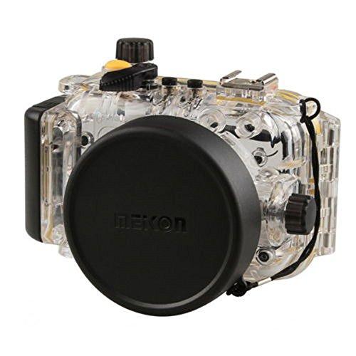 Yunchenghe 40m/130ft Unterwasser Digitalkamera - Unterwassergehäuse, Für Canon PowerShot S120 bis 40m Wasserdicht Leicht Bedienbar