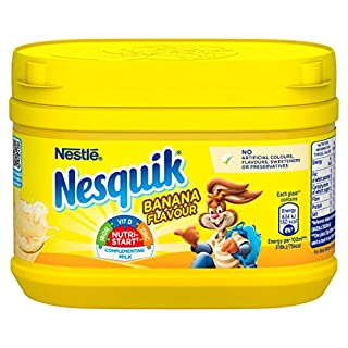 Nesquik Banana Milkshake Mix, 300 g