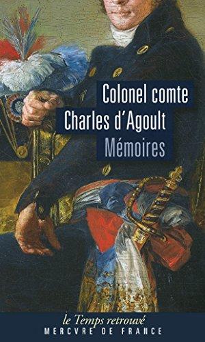Mémoires par Colonel comte Charles d' Agoult