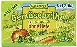 Rapunzel Gemüse-Brühwürfel ohne Hefe, 6er Pack (6 x 80 g) - Bio