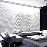 murando - Fotomurali - 250x175 cm - Carta da parati sulla fliselina - Carta da parati in TNT - Quadri murali XXL - Fotomurale - Astratto scala 3D ottico a-A-0133-a-d