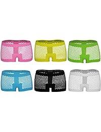 GreeNice 6P Culotte Bragas Mini Shorts Sin costuras para Mujer Bóxer Lencería en 10 Estilos