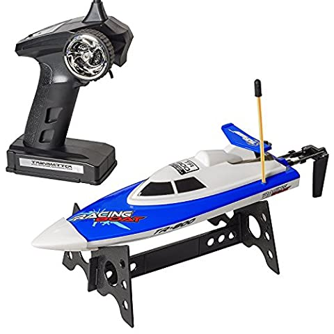 Top Race® Remote Control rc Water speedboat Speed Boat boats ship, Perfect Toy for Pools and Lakes TR-800 (Colors Vary)
