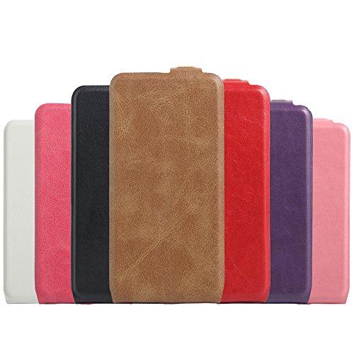 Manyip Téléphone Coque - PU Cuir rabat Wallet Housse [Porte-cartes] multi-Usage Case Coque pour Alcatel One Touch POP 3(5 inch Pixi 3(5 inch) Classique Mode affaires Style(JFC4-8) D