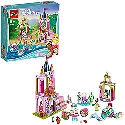 Lego Disney Princess I Festeggiamenti Reali di Ariel, Aurora e Tiana Diana Gioco per Bambini,, 41162