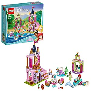 LEGO Disney Princess - I festeggiamenti reali di Ariel, Aurora e Tiana, 41162 1 spesavip