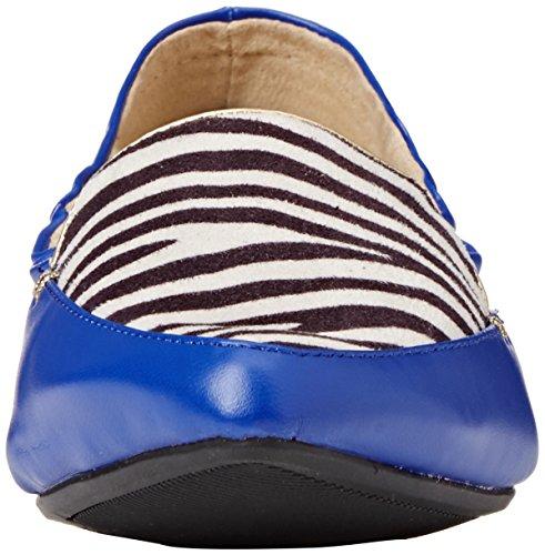 Butterfly Twist Amber- Ballerine donna Blu (Zebra/Cobalt)