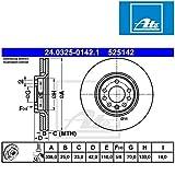 ATE 24032501421 Bremsscheibe Power Disc - (Paar)