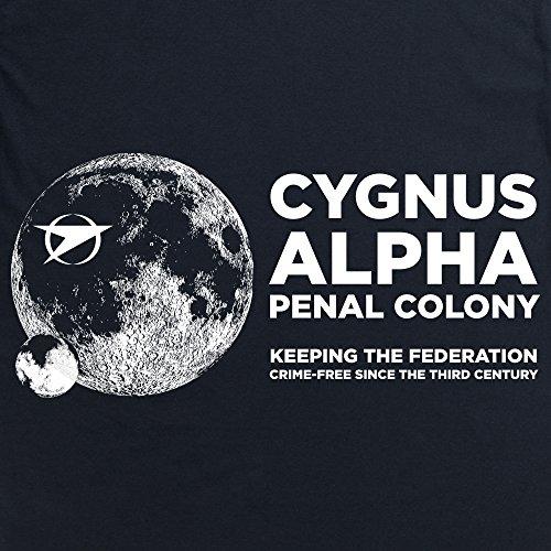 Official Blake's 7 T-Shirt - Cygnus, Herren Schwarz