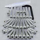 Aluminium Engine Kit XV1100 Virago Silver
