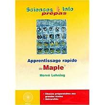Apprentissage rapide de Maple
