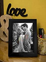 ART STREET Table Photo Frame 5x7 Inches photo size,Black