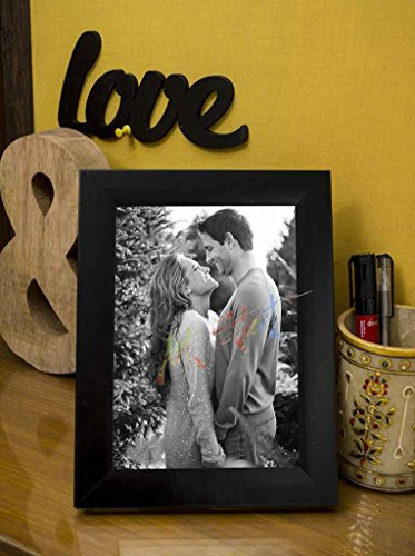 ART STREET Black Table Photo Frame 5x7 photo size
