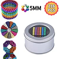 Magic Toys - Sculpture Toys Magic Blocks Sculpture Toys for Intelligence Learning, Stress Relief (216Pcs, 5MM)