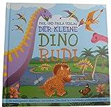 """Ikumaal Pop Up Kinder-Buch, Bilder-Buch, Lese-Buch """"Der kleine Dino Rudi"""", tolle Vorlese-Geschichten, Abenteur-Geschichten für Kinder, Jungen und Mädchen"""