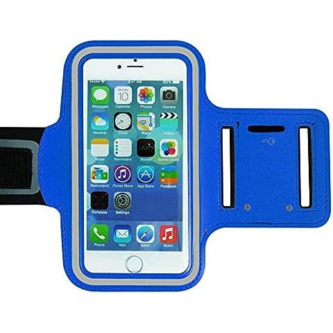 Ambielly Sport Armband modo di allenamento della copertura di sport di ginnastica Pennello cassa del bracciale di superficie braccio porta Banda per iPhone 6 Plus …