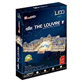 CubicFun- Puzzle 3D LED Museo del Louvre (CPA Toy Group Trading S.L. L517)