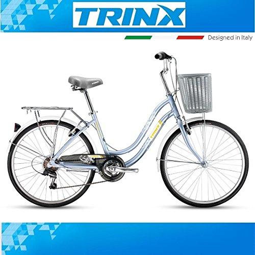 Vélo de 24pouces Femme trinx Cute 3.0City Vélo Shimano 7vitesses Aluminium