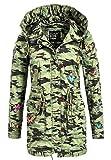 Khujo Taipa Damen Übergangs - Frühjahrs Jacke camouflage (XXL)