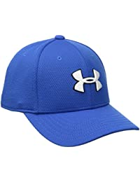 Under Armour Boy's Blitzing 2.0 Gorra, Niños, Azul (Ultra Blue), XS/S