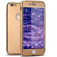 iPhone 6S Plus Hülle,iPhone 6 Plus Hülle,iPhone 6 Plus/6S Plus 360 Grad Hülle Spiegel + Panzerglas,SainCat Überzug... preisvergleich bei billige-tabletten.eu