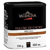 VALRHONA Poudre de Cacao Kakaopulver 100 % Kakao 250 g