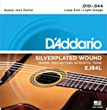 D'Addario EJ84L Gypsy Jazz Saitensatz mit Loop End (Schlaufe) .010 - .044 light