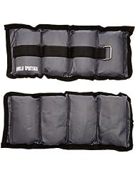 Gorilla Sports 10000551 - Lastres de tobillos( 2 kg, 4 kg, 0,5 kg, total ), talla FR: 1 kg/2 x 2,0