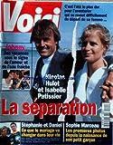 VOICI [No 404] du 07/08/1995 - JOHNNY EN VACANCES - NICOLAS HULOT ET ISABELLE PATISSIER - LA SEPARATION - STEPHANIE DE MONACO ET DANIEL - SOPHIE MARCEAU.