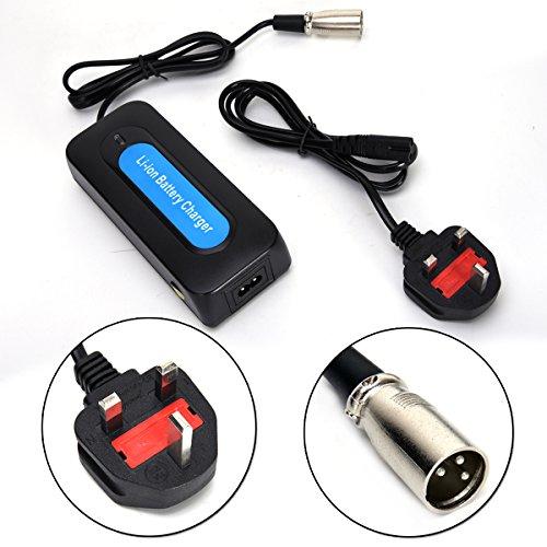 Wingsmoto 24V 2A XLR litio recargable batería