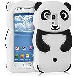 kwmobile FUNDA DE SILICONA Diseño panda para Samsung Galaxy S3 Mini - Un diseño elegante y una protección óptima