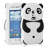 kwmobile FUNDA DE SILICONA Diseño Panda para Samsung Galaxy S3 Mini - Un diseño elegante y una...