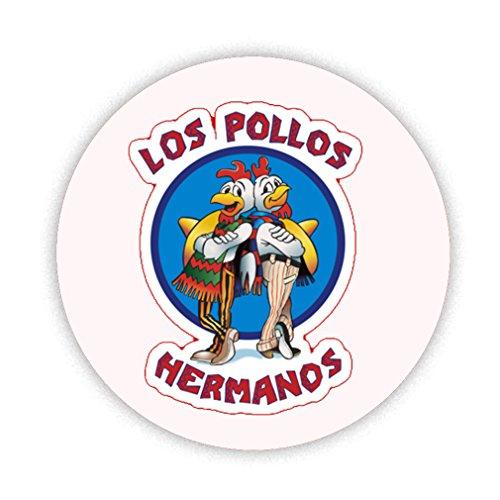 LOS POLLOS HERMANOS Pinback broche bouton Badge à Pin's 38 mm Rétro Cadeau Insolite