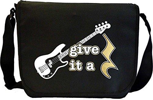 Bass-Guitar-Give-It-A-Rest-Sheet-Music-Document-Bag-Musik-Notentasche-MusicaliTee