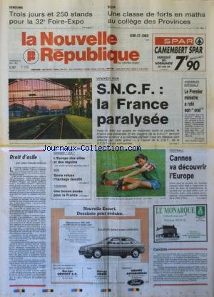 NOUVELLE REPUBLIQUE (LA) [No 14172] du 2...