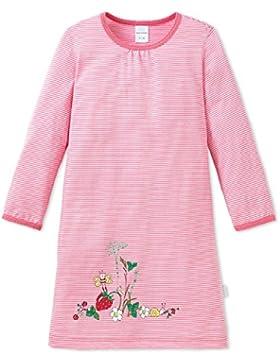Schiesser Mädchen Nachthemd Sleepshirt Langarm 1/1 Gartenfreunde - 151390