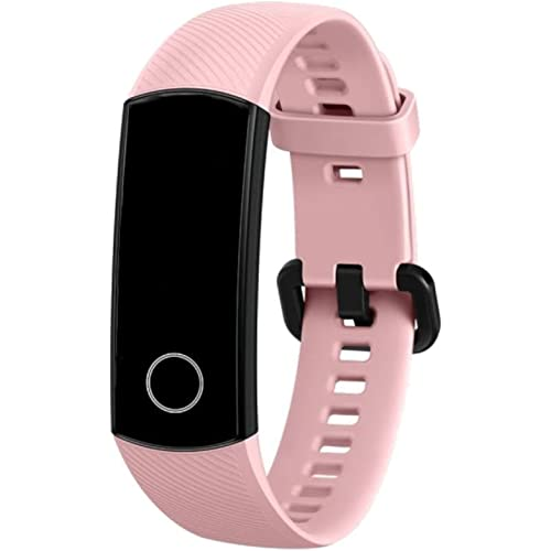 Honor Band 5 Fitness Tracker, Monitoraggio SpO2, Battito Cardiaco 24/7 e Sonno, Display Touch AMOLED 0.95 Pollici, Schermo Curvo da 2.5D, Coral Pink